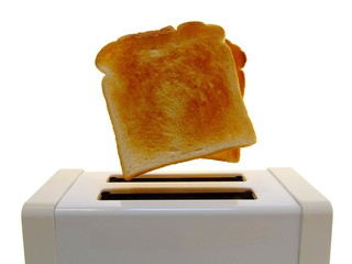 Pop-Up Toast - Isolated