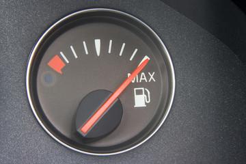 Fuel Gauge Reading Full