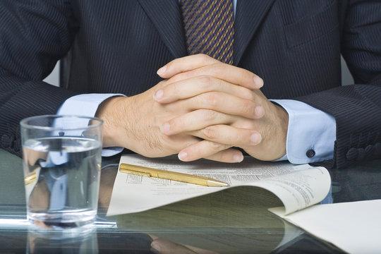 empresario negociando un acuerdo