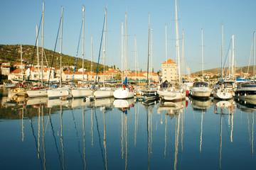 sailboats at Harbor
