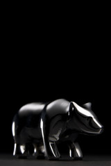 Close-Up Of Bear Figurine