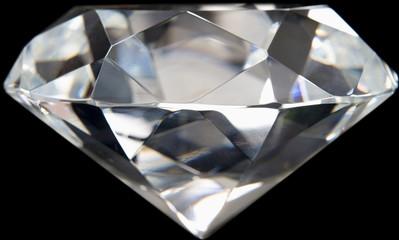 Close up of Flawless Diamond