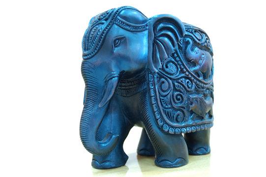 Handmade statue of elephant