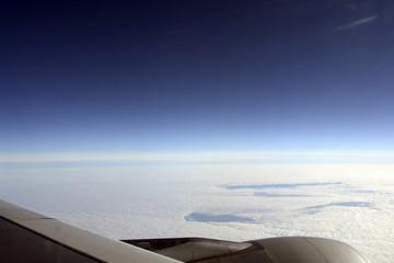 Flugzeug Ausblick 08