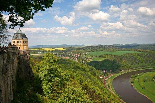 Blick von der Festung Königstein 6