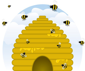 """Buzzy"" Beehive"