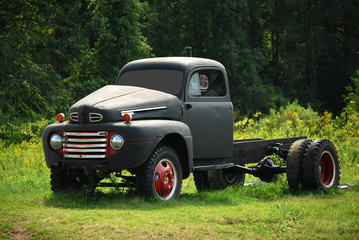 Old gray truck