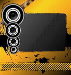 An attractive awesome music banner design