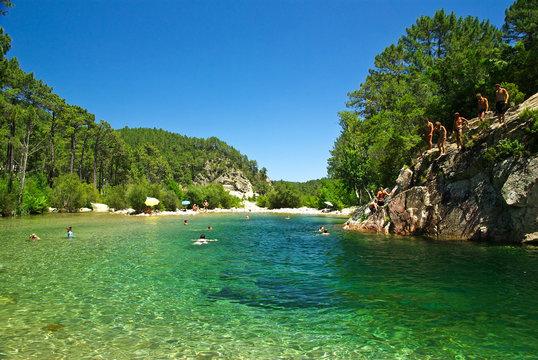 trou d'eau Bavella - Corse