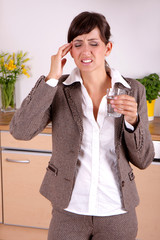 Kopfschmerzen Job