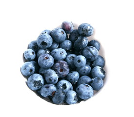 Blueberry isolated on a white background