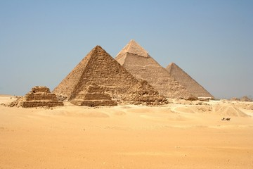 Pyramides de Gizeh, Egypte_Pyramids of Giza, Egypt