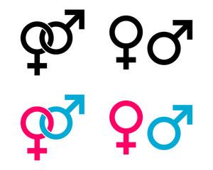 geschlechter symbole