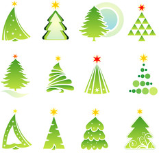 Christmas set. Elements for design