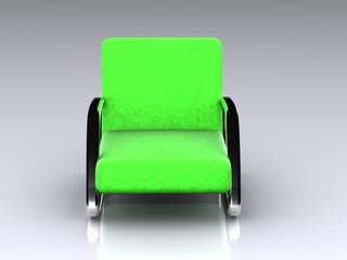 armchair. 3D