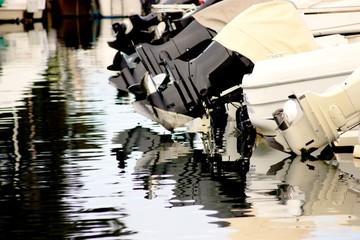 motores de barco Fototapete