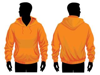 Men's sweatshirt template