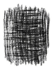 Black textured grungy background drawn with charcoal.