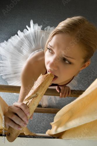 Питание и режим балерины