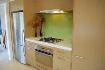 modern kitchen with elegant decoration