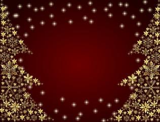rot goldener weihnachts hintergrund