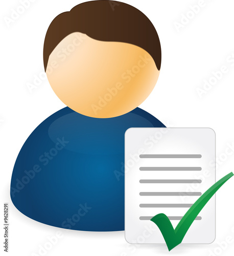Flow Chart Icons Accept Document Stock Photo And Royalty Free