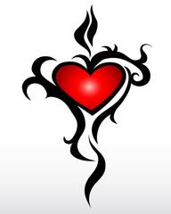 tribal heart