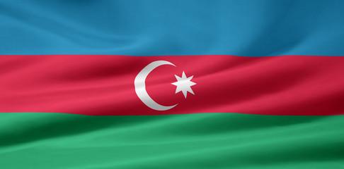 Aserbaidschanische Flagge