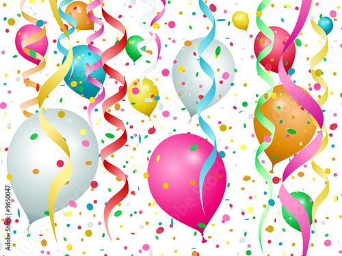 Серпантин поздравлений на день рождения 743