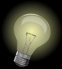 energie - glühbirne