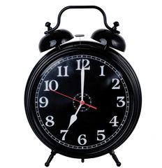 Class vintage alrm bell clock