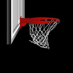 basketball hoop vector