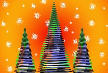 Natale Astratto