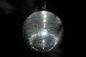 Spiegelkugel in einer Disco