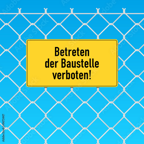 schild betreten der baustelle verboten stockfotos und lizenzfreie vektoren auf. Black Bedroom Furniture Sets. Home Design Ideas