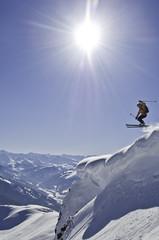 spektakulaerer Wintersport