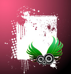 Abstracxt music banner design