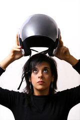 The helmet save your life