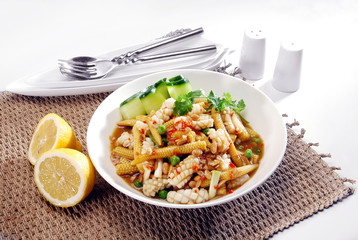 squid with baby corn