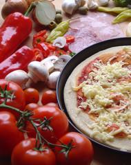 pzza zubereiten
