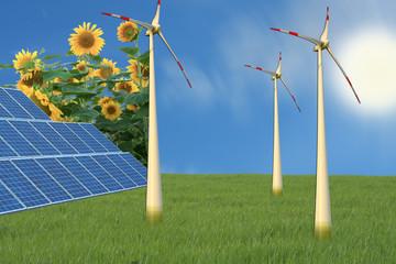 Alternative Stromgewinnung