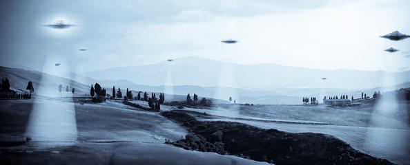 In de dag UFO UFO
