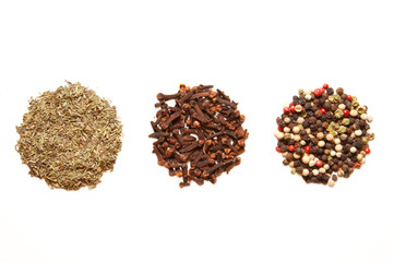 three kinds of spices