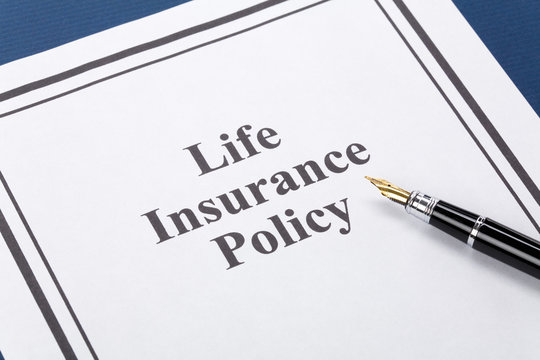 Document of Life Insurance Policy for background