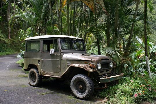 vieille jeep