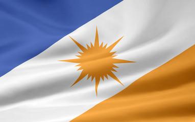 Flagge von Tocantins- Brasilien