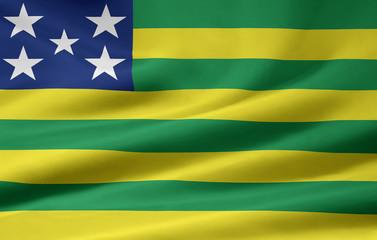 Flagge von Goiás - Brasilien