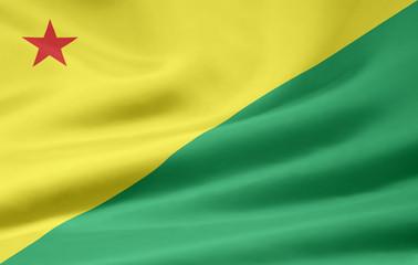 Flagge von Acre - Brasilien