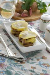 Tortino di patate e porcini - Contorni Trentino Alto Adige