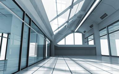 3d render of modern interior